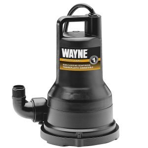 light weight sump pump
