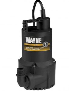 Mini sump pump